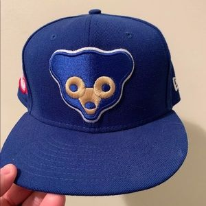 Chicago Cubs New Era Cooperstown Fitted Hat 7 3/4